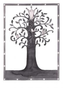 13x18 svart träd stämpel hemsida